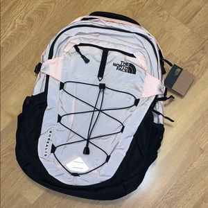 NWT The North Face Borealis Backpack, Pink Salt